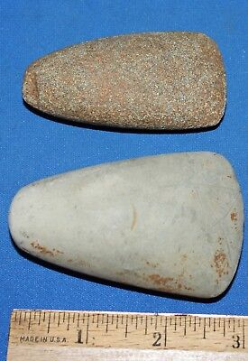 Pair of Neolithic Stone Celts Group #1