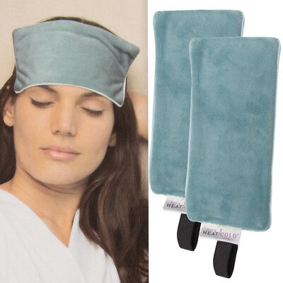 2pk Migraine Mask Wrap For Headache & Migraine Relief w/ Gel Cold Pack, Hot Pack