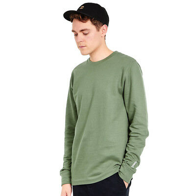 Wemoto - Lawrence Sweater Olive Pullover Rundhals