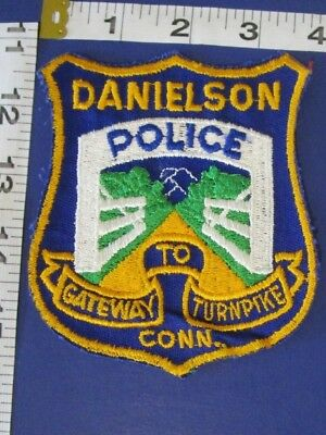 Danielson Connecticut Police Shoulder  Patch