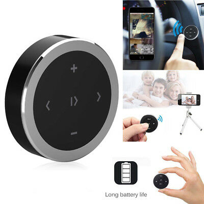 wireless Media Audio Music Remote Control Button For Car Steering Wheel Bike