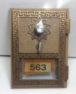 Amtique Brass post Office Box 563 From 1959