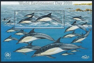 2000 Jersey World Environment Day Minisheet Fine Mint Mnh