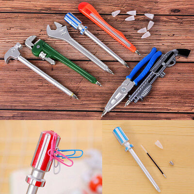Plastic Wrench Tool Ballpoint Pen Novelty School Office Gift Kid Toy Stationery