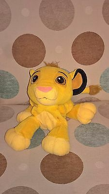 9 inch long(excl tail)  Simba of Disney Lion King soft toy - Rattles