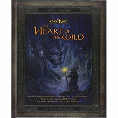 Heart of the Wild (One Ring) - Hardcover NEW Cubicle 7 Enter 2013-10-23