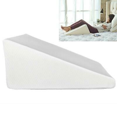 Bed Wedge Pillow Foam Body Positioner Elevate support Back Neck Pain Leg Rest