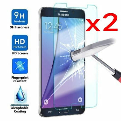 2x SAMSUNG GALAXYJ3 J5 J7 J4 J6 J8 TEMPERED GLASS GORILLA GLASS SCREEN PROTECTOR