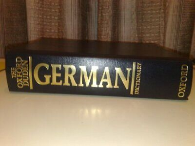 The Oxford-Duden German Dictionary: German-English/English-German Hardback Book