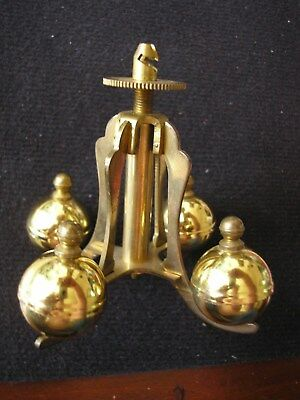 Vintage brass and 400 day anniversary clock pendulum - spares parts