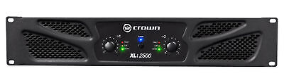 Crown Pro Audio XLi2500 1500 Watt 2 Channel DJ/PA Power Amplifier Amp XLI 2500