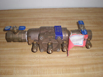 "ASSE 1015 Flomatic Backflow Preventer DCVE 180 F 175 PSI 1""  600 WOG"