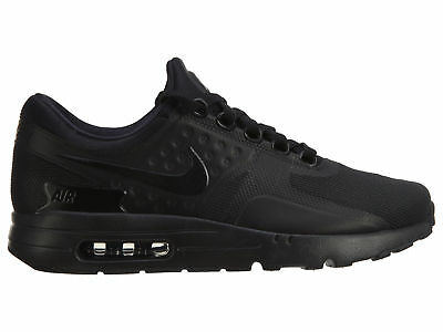 buy popular a80bc 638f2 Nike Air Max Zero Essential Mens 876070-006 Triple Black Running Shoes Size  10