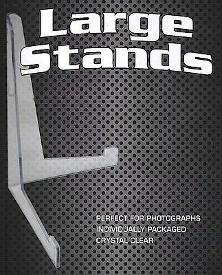 5 Large Stands for Comic Book  Menu Photo  8 1/2 X 11 Toploader Stand