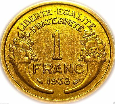 France French 1938 Franc Coin