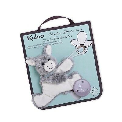 Kaloo - Les Amis Regliss Donkey Doudou Soother/Pacifier Holder