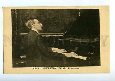 215097 STENHAMMAR Swedish COMPOSER Pianist by THEGERSTROM old
