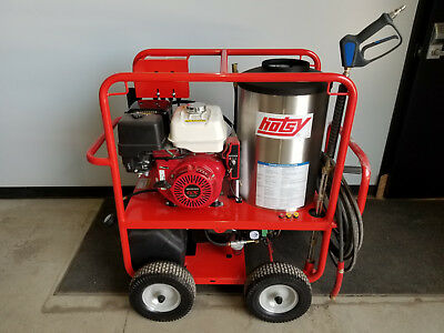 Hotsy Hot Water Pressure Washer Honda GX390 3,500PSI, 4GPM 1075sse