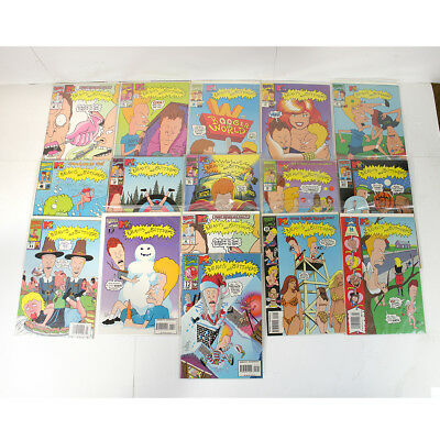 Lot of 16 Marvel MTV's Beavis and Butthead Comics Issues #1 - #15