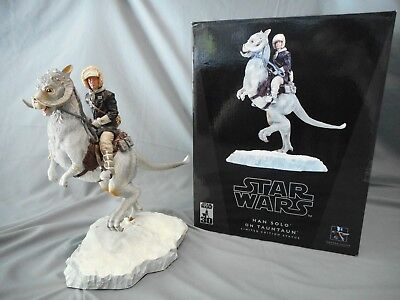 Star Wars Han Solo On Tauntaun Limited Edition Statue Gentle Giant #2820/3000