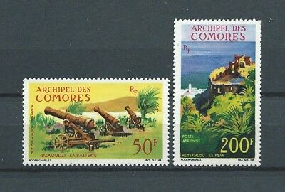 COMORES - 1967 YT 18 à 19 PA - TIMBRES NEUFS** MNH LUXE