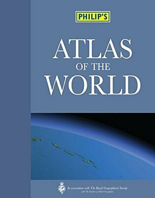 Philip's Atlas of the World (World Atlas) by Philip's Hardback Book The Cheap