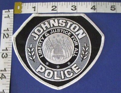 Johnston Iowa Police  Shoulder Patch