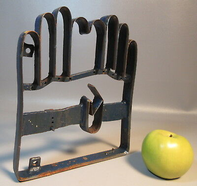 19th Century Industrial Glove Form Mold Elmer Little Factory For Leather Gloves