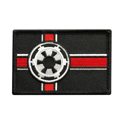 Star Wars Imperial Galactic Alliance Flag Patch (Hook-3.0 x 2.0 )