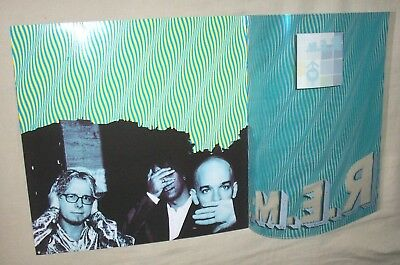 "REM R.E.M. ""Up""  RARE vintage see-through promo POSTER"