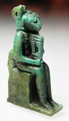 Zurqieh -As5443- Ancient Egypt. Nice Faience Amulet Of Sekhmet. 600 - 300 B.c