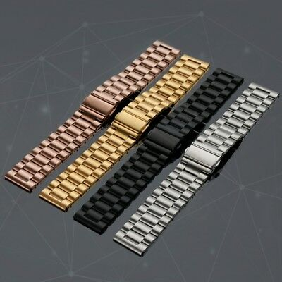 Stainless Steel Versa Band Strap Replacement Metal Wristbands for Fitbit Versa
