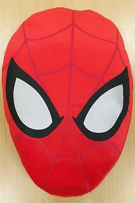 NEW Marvel Ultimate Spiderman Web Head Cushion - Red