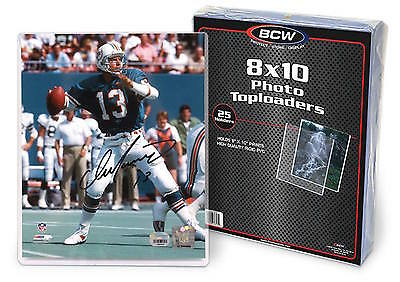 4 BCW 8X10 Photo Hard Plastic Toploaders Document Holders Protect from Bending