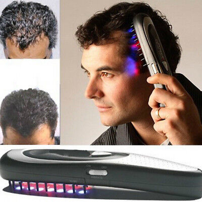 Laser Treatment Power Grow Comb Stop Hair Loss Regrow Therapy Massage Eyeful