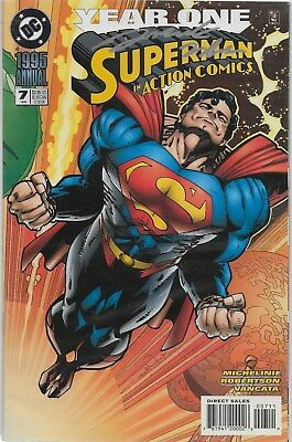 Action Comics Annual No.7 / 1993 Signed by Darick Roberson with Certificate