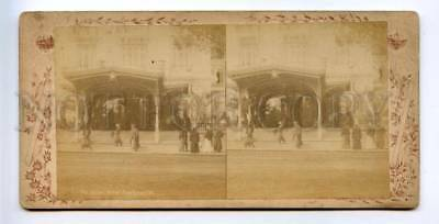 163977 Egypt CAIRO Caire HOTEL Continental KAIRO STEREO PHOTO