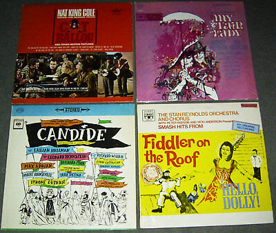 8 LP RARE MUSICAL - SOUNDTRACK - BROADWAY CAST * 60's ORIGINALS USA & UK & GER
