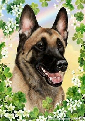Large Indoor/Outdoor Clover Flag - Belgian Malinois 31251
