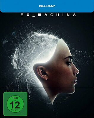 Ex_Machina - Limited Steelbook - (Domhnall Gleeson) # BLU-RAY-NEU