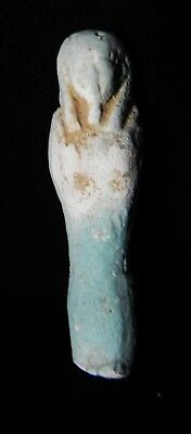 Zurqieh -As5453- Ancient Egypt. Faience Ushabti.  600 - 300 B.c