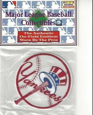 New York Yankees Top Hat Sleeve Patch Official MLB Jersey Traditional Logo