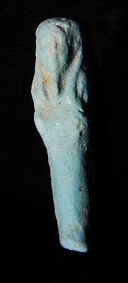 Zurqieh -As5458- Ancient Egypt. Faience Ushabti.  600 - 300 B.c