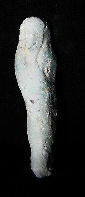 Zurqieh -As5461- Ancient Egypt. Faience Ushabti.  600 - 300 B.c