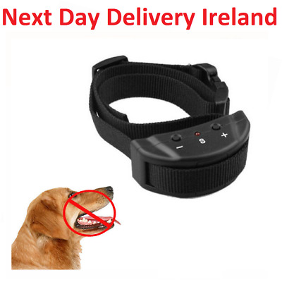 Anti Barking Pet Dog Training Vibration Remote Collar Electric Shock Non Bark