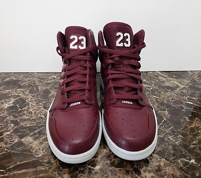 648e90526f63fb Nike Men s Air Jordan 1 Flight 4 Basketball Shoes Maroon 820135-600 Size 12