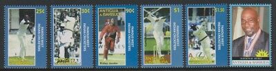 Antigua - 2007, World Cup Cricket, West Indies set - MNH - SG 4091/5