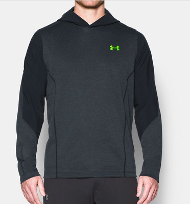 New With Tags Mens Under Armour ColdGear Infrared Grid Pullover Hoody