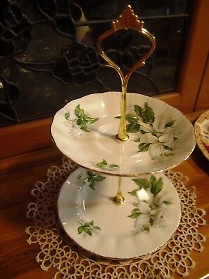 Paragon Trillium  Cake biscuit trinket high tea stand 2
