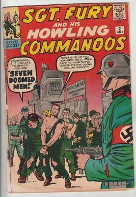 Sgt.Fury and His Howling Commandos # 2 Strict VG Appearance 2nd Sgt.Fury,Howler